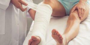 Indemnizacion por fractura de tibia y perone